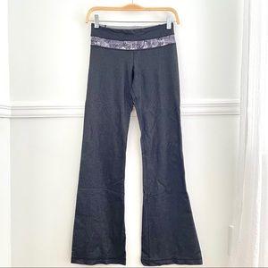 Lululemon Two-Tone Navy Yoga Bootcut Flare Pants 2